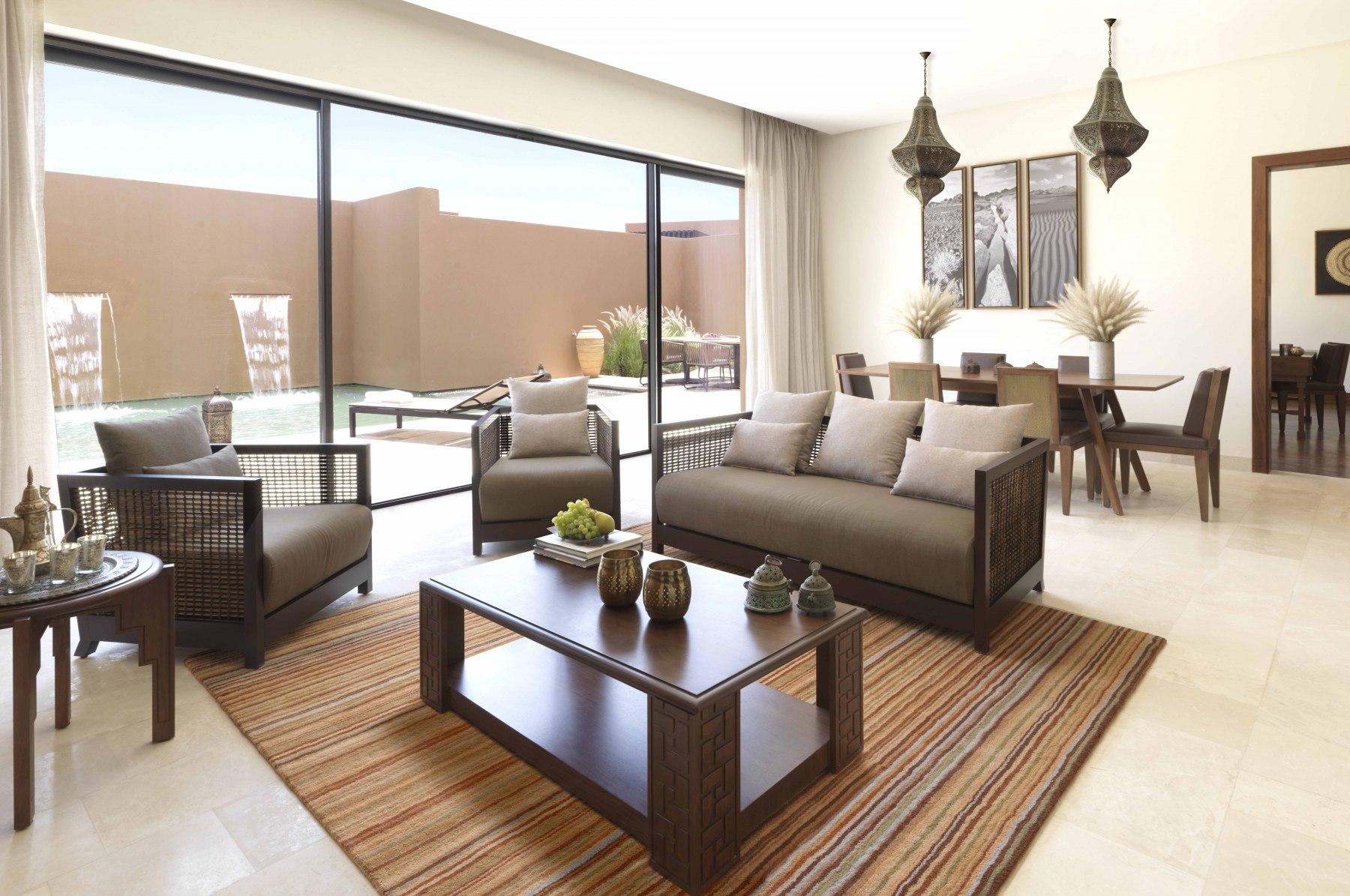 Anantara-Al-Jabal-Al-Akhdar-Resort-Two-Bedroom-Garden-Pool-Villa-Living-Room-min