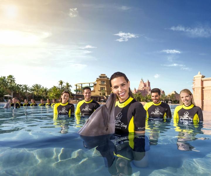atlantis The Palm Dolphin bay