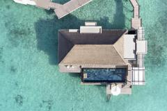 water-villa-with-private-pool-arial-view