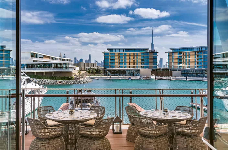 Bulgari DubaiYacht Club RestaurantTerrace