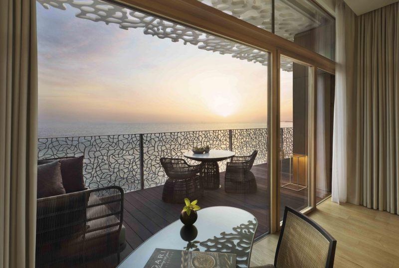 Bulgari Deluxe Ocean View Room
