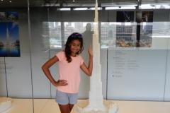 Rajkumari @Burj Khalifa
