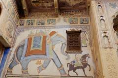 Haveli muurschilderij