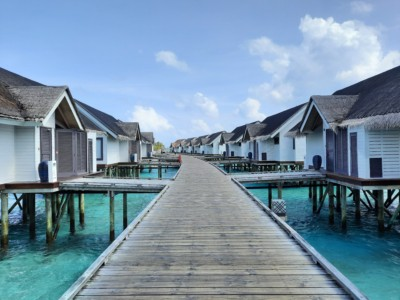 Overwater villa's Ozen Life Maadhoo